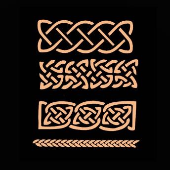Celtic Braids - Schablon