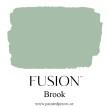 Brook - Fusion handmålad tag 3x6 cm
