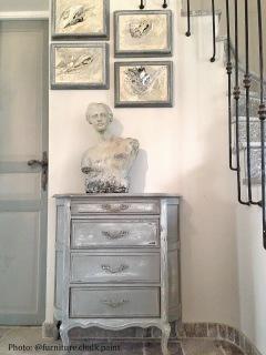 Autentico Vintage chalk paint. Photo Atelier-Créatif