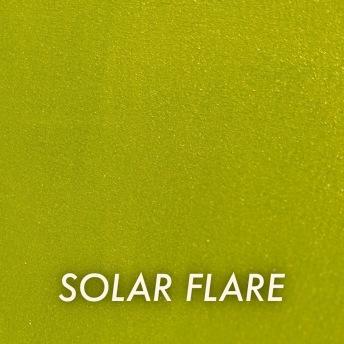 Autentico Metallico Solar Flare - Handmålad tag ca 5x8 cm
