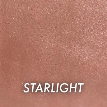 Autentico Metallico Starlight - Handmålad tag ca 5x8 cm