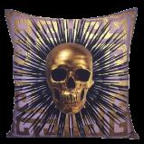 Greek Key & Skull