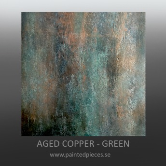 Aged Copper GRÖN - LJUS 100 ml