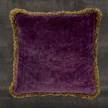 Pure Velvet - Kuddfodral lila/plum