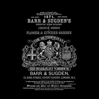 Barr & Sugden's - Transfer vitt tryck