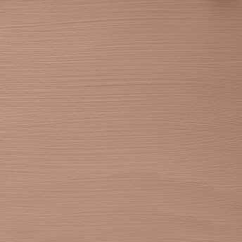 Burnt Sienna - Vintage Handmålad Tag 3x6 cm