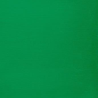 Bright Green - Vintage Handmålad Tag 3x6 cm