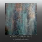 Aged Copper BLÅ