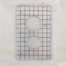 Akrylblock möbelknopp
