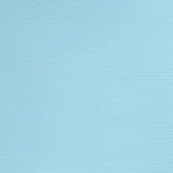 Bleu Clair - Vintage Handmålad Tag 3x6 cm