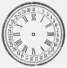 Clock 36 Large
