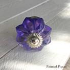 Glass Swirler Purple