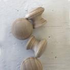 Möbelknoppar trä 4 st