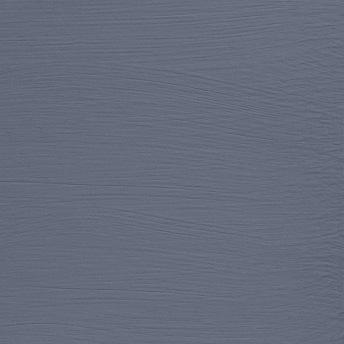 Pavot Bleu - Vintage Handmålad Tag 3x6 cm