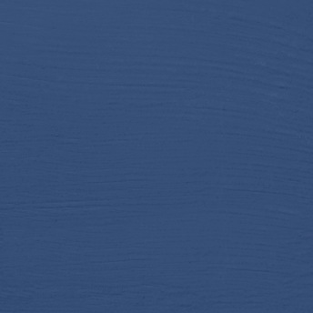 Nordic Blue - Vintage Handmålad Tag 3x6 cm