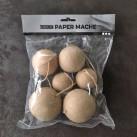 Julkulor Paper Mache