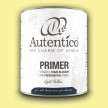 Autentico Primer/Spärrgrund LJUSGUL - Handmålad tag - provbit 3x6 cm