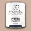 Autentico Primer/Spärrgrund PUDERROSA - Handmålad tag - provbit 3x6 cm