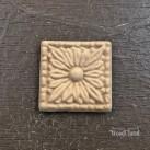 Square Flower WUB0207 Mått 3.3cm