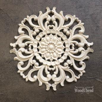 Centerpiece Mandala WUB2082 Mått  Ø 15cm - Runt ornament