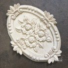 Flower Plaque WUB2097 Mått 20x14.5cm