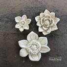Flower Set WUB0464 Mått 1.5 - 3.5cm