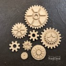 Pack of Cogs WUB0056 Mått 2,5-8cm