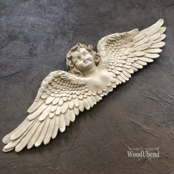 Angel Large WUB0519 Mått 42.5x11.5cm - Krönornament