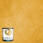 Polyvine Metallic Paint Bright Gold 500ml
