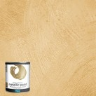Polyvine Metallic Paint Pale Gold 500ml