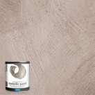 Polyvine Metallic Paint Pewter 500 ml