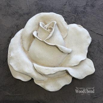 Classic Rose (L) WUB0324 14x15cm - Ornament