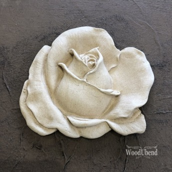 Classic Rose (M) WUB0326 8.5x10cm - Ornament
