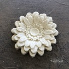 Classic Rounded Petal Flower WUB0354 Mått 5cm