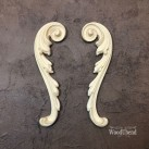 Decorative Scrolls Pair WUB1723 Mått 20x5cm