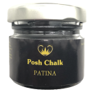 P.C Patina Gilding Wax DARK BROWN
