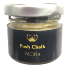 P.C Patina Guilding Wax PALE GOLD 25ml