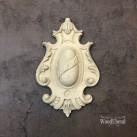 Decorative Plaque WUB1731 Mått 9x11cm