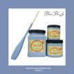 DBP Blueberry - Handmålad tag (trä) ca 3x6 cm