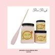 DBP Soft Pink - Handmålad tag (trä) ca 3x6 cm