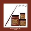 DBP Rusty Nail - Handmålad tag (trä) ca 3x6 cm