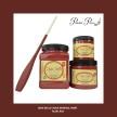 DBP Rustic Red - Handmålad tag (trä) ca 3x6 cm