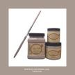DBP French Linen - Handmålad tag (trä) ca 3x6 cm