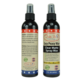 DBP - Easy Peasy Matt Spray Wax CLEAR (Vattenbaserat) - Flaska 236 ml