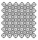 Schablon Floor Tile 50x50cm