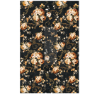 Dark Floral ca 50x75cm