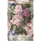Dark Lace Floral ca 50x75cm