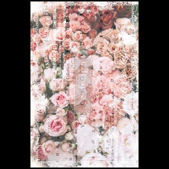 Angelic Rose Garden ca 50x75cm - Tissue Paper