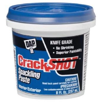 DAP Crack Shot Högpresterande  Multispackel Mindre reparationer - 237 ml