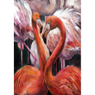 MINT Decoupagepapper Flamingos 30x42cm